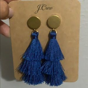 J. Crew Jewelry - j Crew tassel earrings